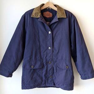 Vintage Woolrich Jacket Barn Chore Blue USA